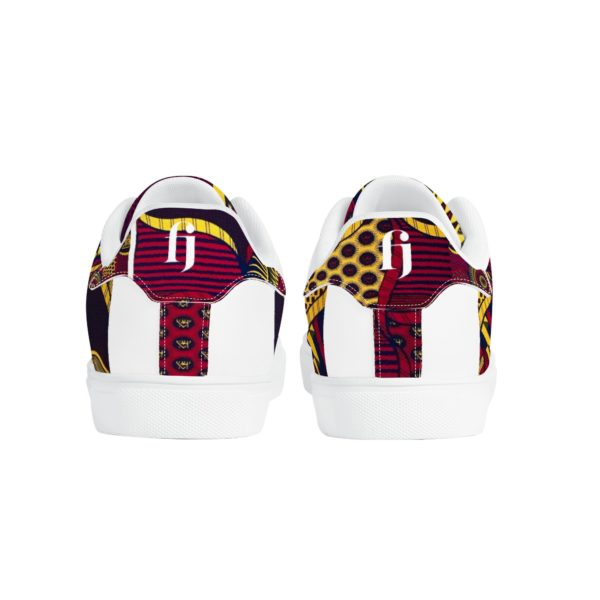 Fred Jo African Fusion Leather Sneakers - Fred jo Clothing