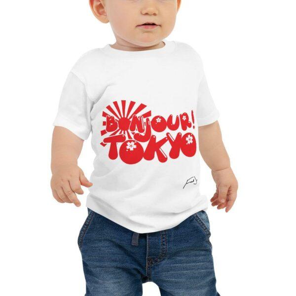 Fred Jo Baby Sleeve Jersey Tee - Fred jo Clothing