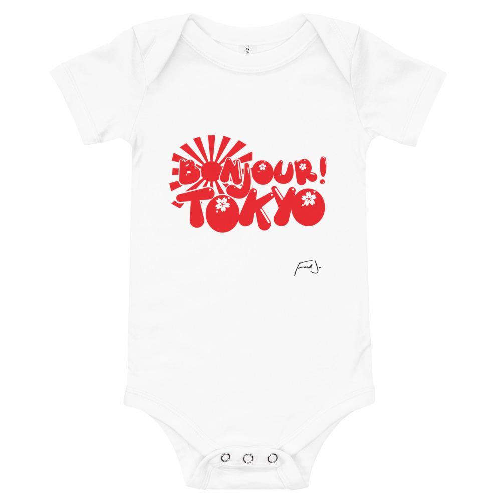 Bonjour Tokyo Baby short sleeve - Fred jo Clothing