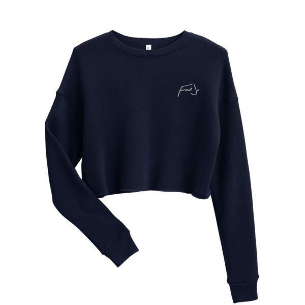 Fred Jo Crop Sweatshirt - Fred jo Clothing