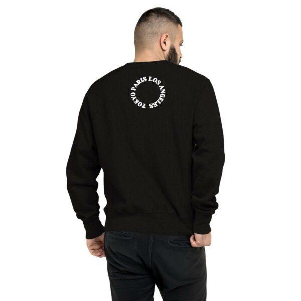 Fred Jo Champion Sweatshirt Paris Tokyo Los Angeles Edition - Fred jo Clothing