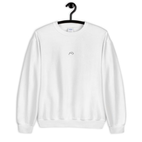 Fred Jo White Chest Unisex Sweatshirt - Fred jo Clothing