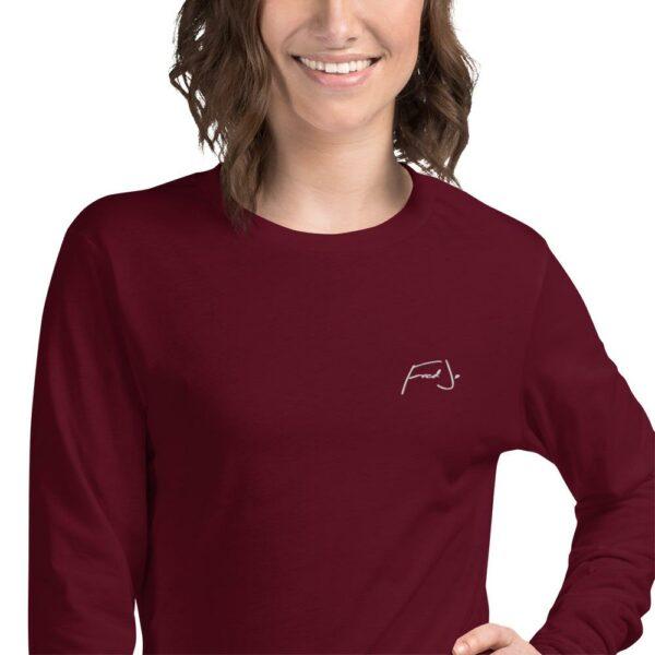 Fred Jo Unisex Long Sleeve Tee - Fred jo Clothing