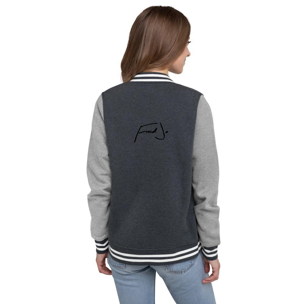 Fred Jo Women's Letterman Jacket - Fred jo Clothing