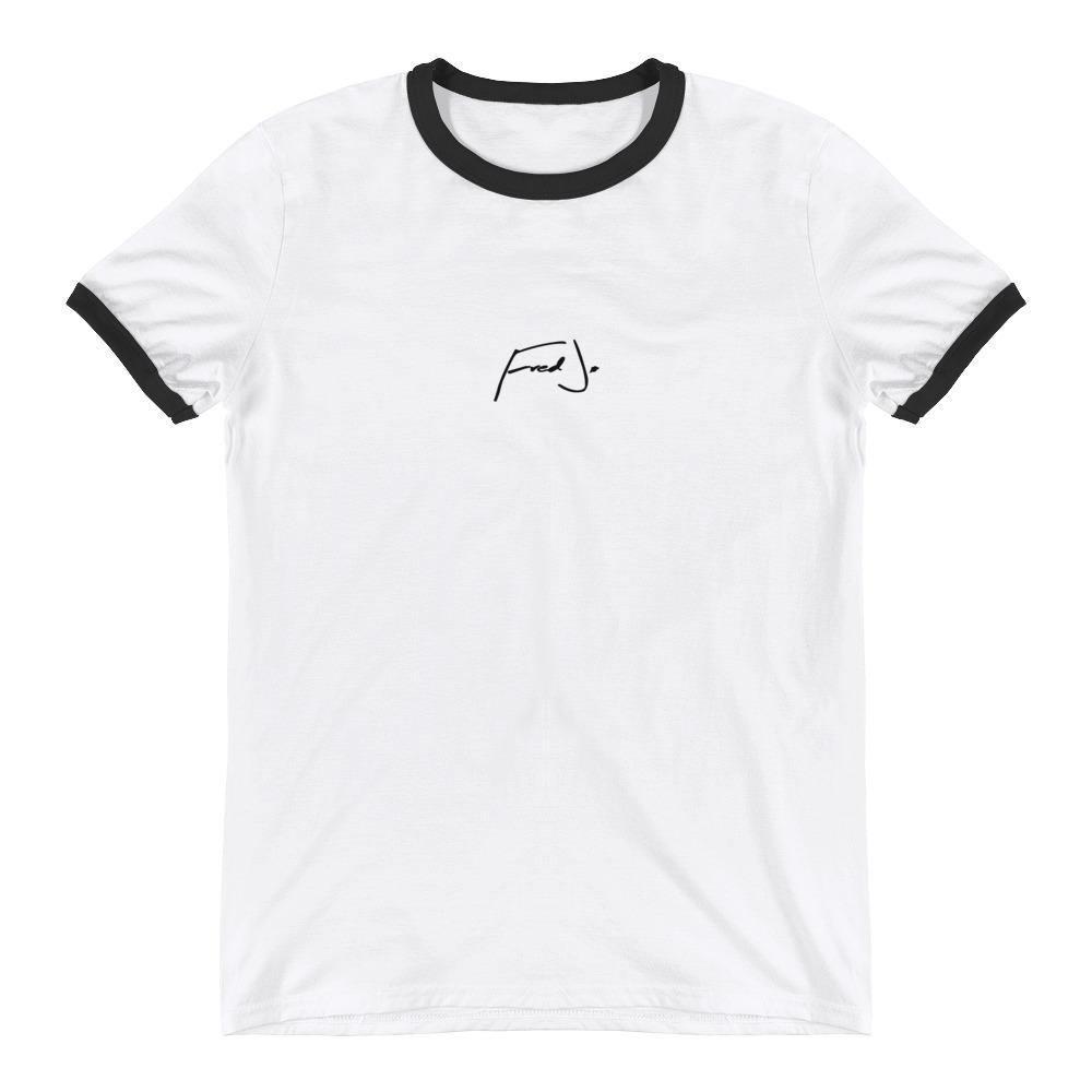 Fred Jo Iconic Ringer T-Shirt - Fred jo Clothing