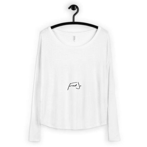 Ladies' Long Sleeve Tee - Fred jo Clothing