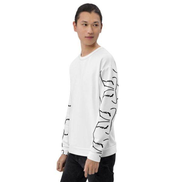 Fred Jo Reverse Sleeve Unisex Sweatshirt - Fred jo Clothing