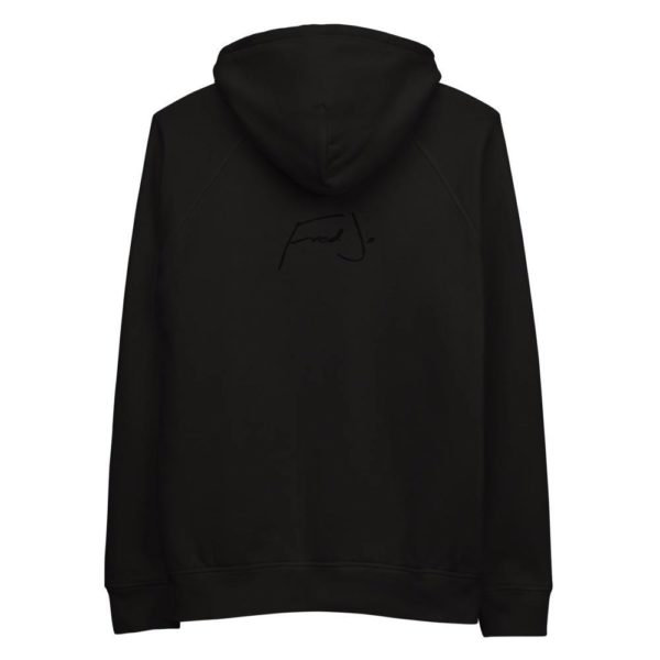 Fred Jo White eco-friendly Unisex hoodie - Fred jo Clothing