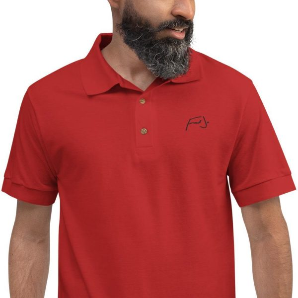 Fred Jo Embroidered Polo Shirt - Fred jo Clothing