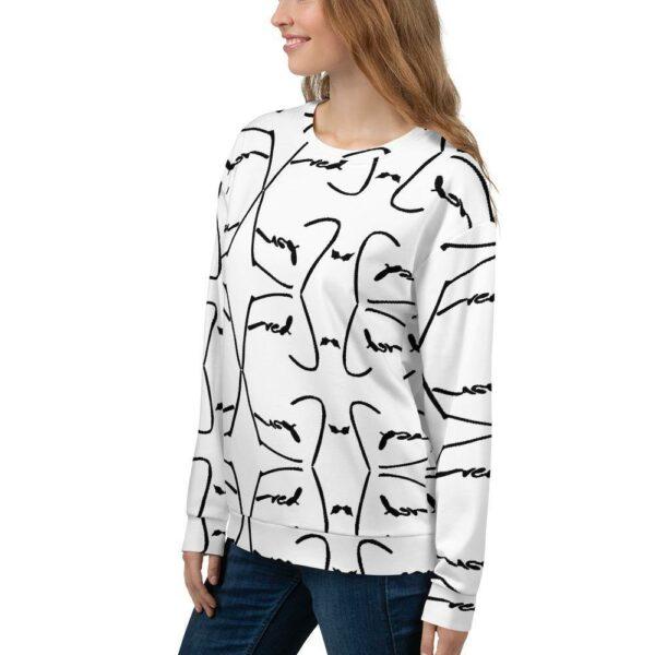 Fred Jo Reverse Unisex Sweatshirt - Fred jo Clothing