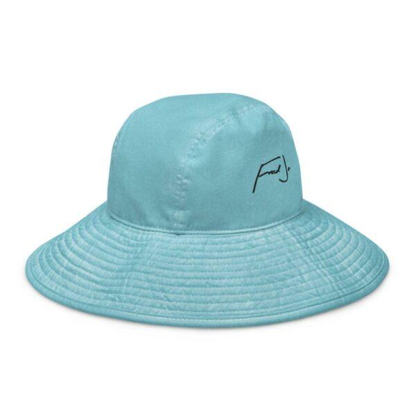 Wide brim bucket hat - Fred jo Clothing