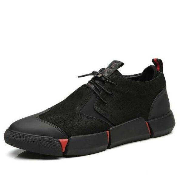Men Black Sneakers - Fred jo Clothing