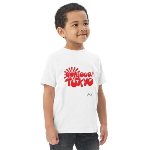 Bonjour Tokyo Toddler jersey t-shirt - Fred jo Clothing