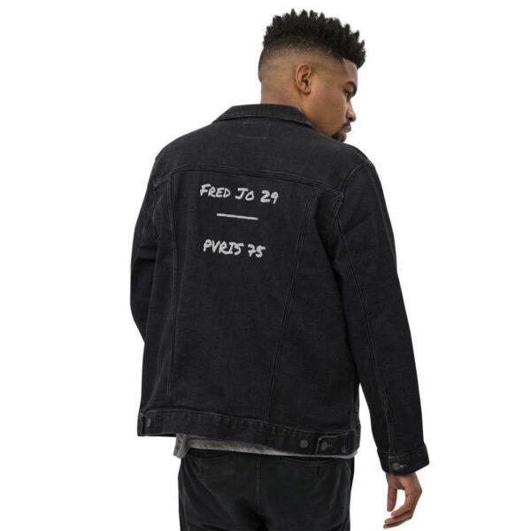 Fred Jo Unisex denim jacket - Fred jo Clothing