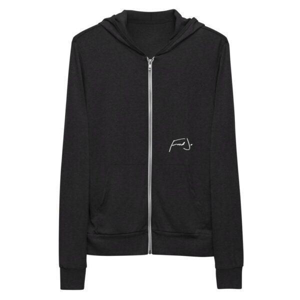 Fred Jo Unisex zip hoodie - Fred jo Clothing