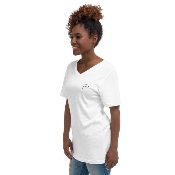 Fred Jo Unisex V-Neck T-Shirt - Fred jo Clothing