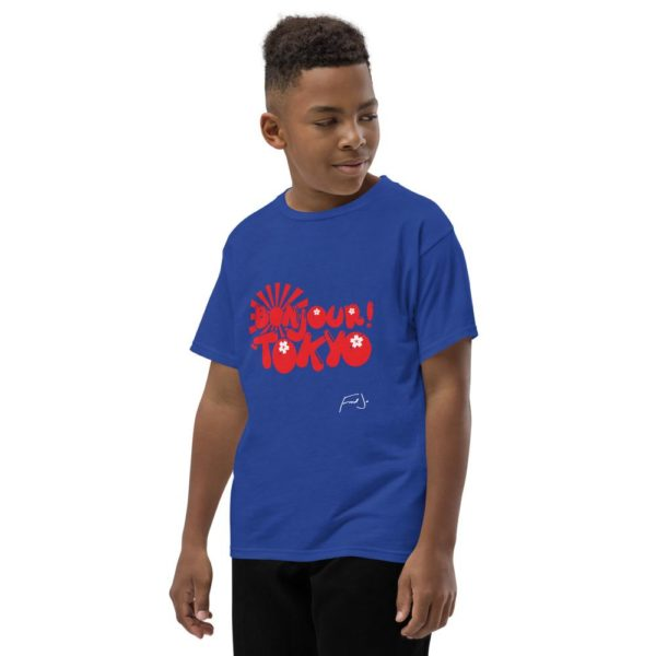 Bonjour Tokyo Youth Tee by Fred Jo - Fred jo Clothing