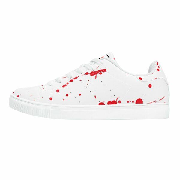 Fred Jo Bloodbath Top Leather Sneakers - Fred jo Clothing