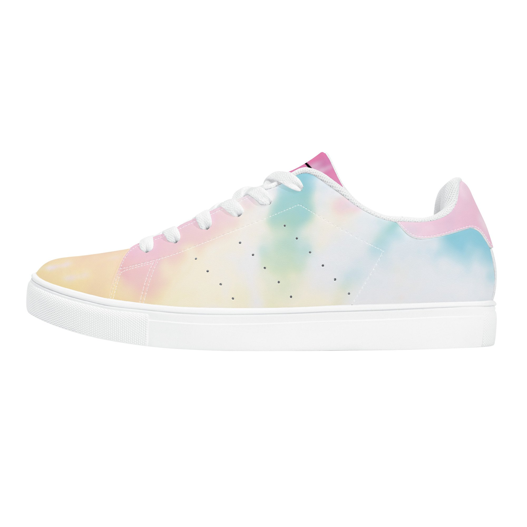 Fred Jo Watercolor Leather Sneakers - Fred jo Clothing