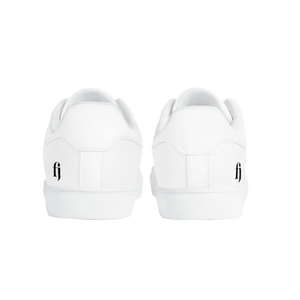 All White Fred Jo Sneakers - Fred jo Clothing