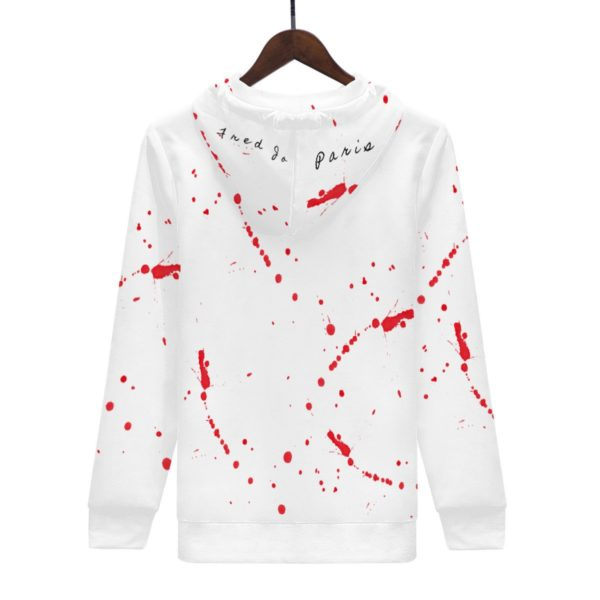 Fred Jo Blooded Hoodie - Fred jo Clothing
