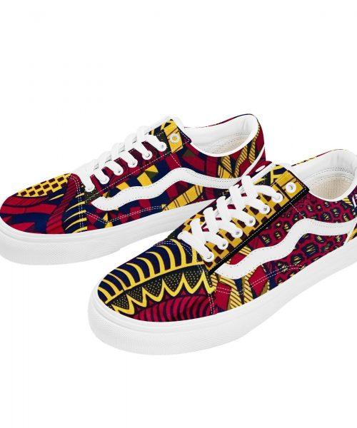 Fred Jo African Fusion Flat Sneaker - Fred jo Clothing